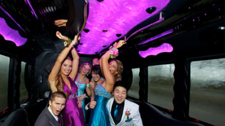 Denver Homecoming Party Bus